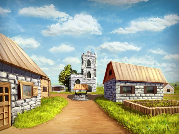Minecraft Village by Algoinde.deviantart.com on @DeviantArt