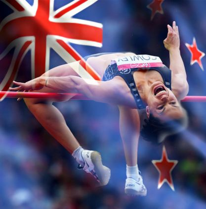she jumped for NZ and our hearts leapt with her @sarahcowley3 you are gold! #collectivechamp *beyond proud* #nobull #respect