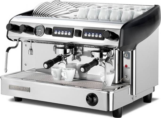 Machine à café expresso professionnelle 2 groupes Expobar Megacrem