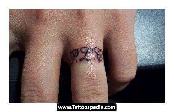 Bildresultat för initials tattoo