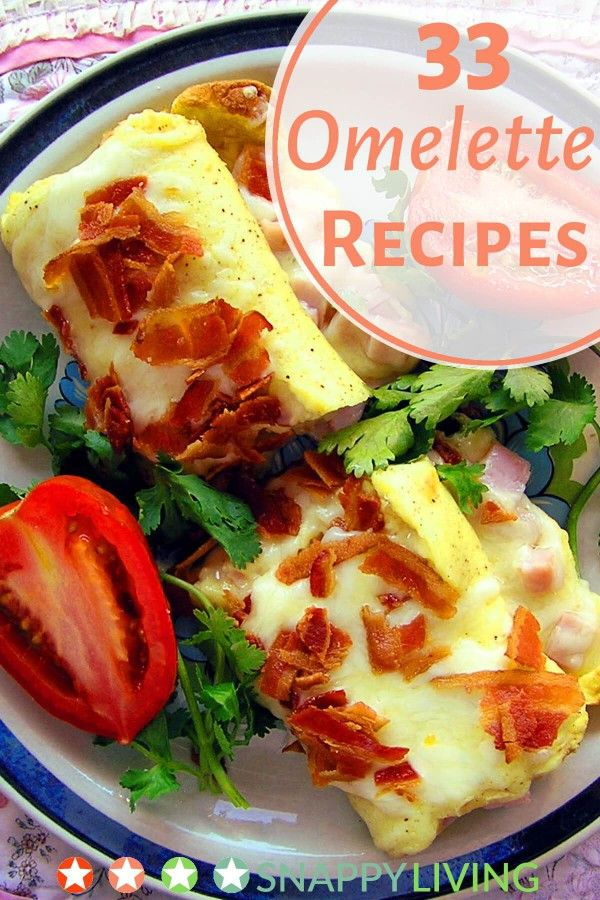 How many calories are there in an omelette?