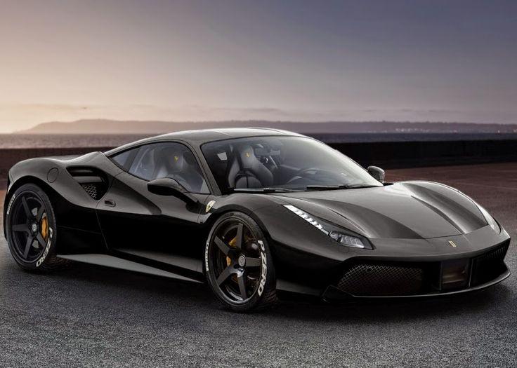 ferrari 488 gtb ferrari 488 gtb spider grey 2016 ototrendsnet - Ferrari 488 Gtb Black
