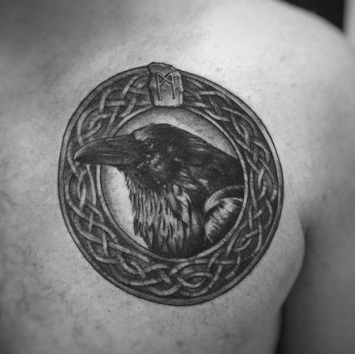 23 Raven Tattoo Designs Ideas: Best 25+ Celtic Raven Tattoo Ideas On Pinterest