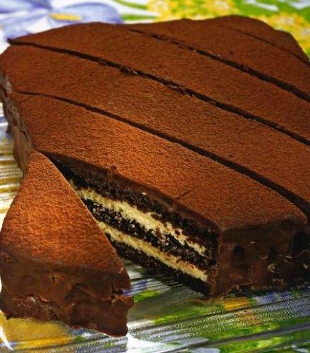 Как приготовить торт шоколадный пинчер