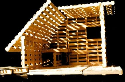 Temp housing for disaster victims or refugees from building.co.uk