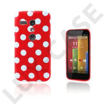 Polka Dots (Rood) Motorola Moto G Hoesje