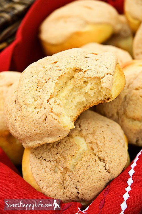 "Pan Dulce (Mexican Morning Buns) | Sweet Happy Life.."".. these sweet, fluffy buns fit in the palm of your hand and are covered with either cinnamon or chocolate topping.. a staple served in the morning with coffee or hot chocolate"""