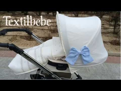 Fundas y conjuntos personalizados para carrito bebe, bugaboo, maclaren, jane, bebecar,  j - YouTube