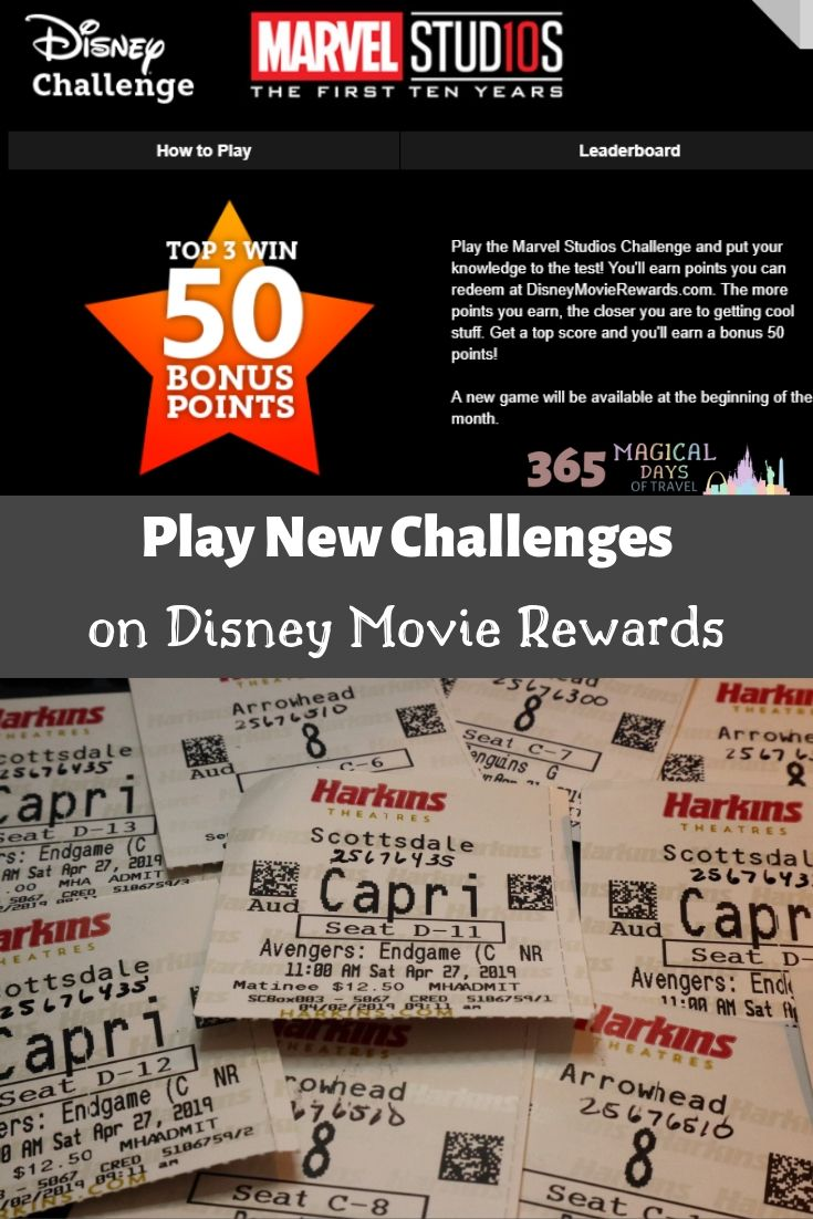 Two Disney Challenges For May 365 Magical Days Of Travel