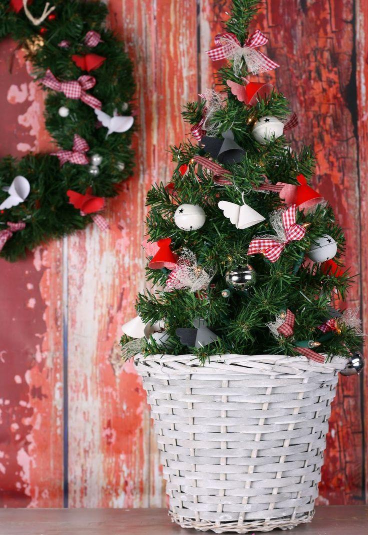 kittys craft: De engelenboom Angel christmas tree. Bowdabra bowwire angel  Nellie snellen  Stanzen strikken maken  Kerst kerstfeest kerstboom