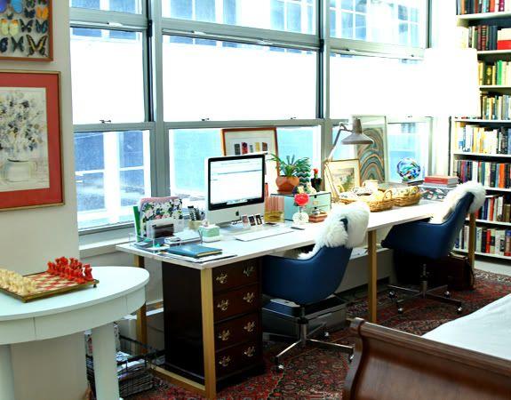 Ikea hack desk interior design pinterest espacios de - Espacios de trabajo ikea ...