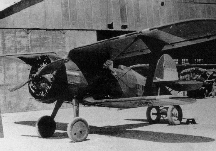 Spain - 1936. - GC - Russian designed Spanish Polikarpov I-15 Chato in Civil Registration.