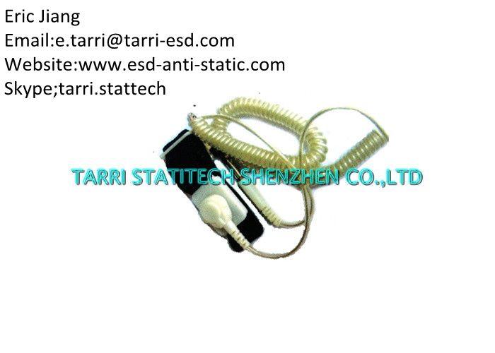 Adjustable ESD Antistatic Wrist Band Strap Snap Alligator Clip 2.0mm 2.2mm 2.4mm
