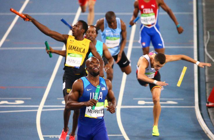 2016 Rio Olympics - Athletics - Final - Men's 4 x 400m Relay Final - Olympic…