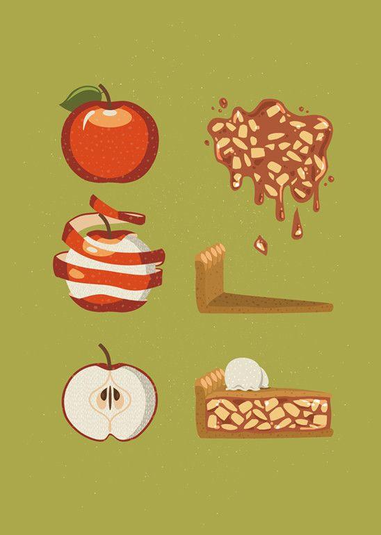Apple Pie Order - Carol Aldrighi (Print)