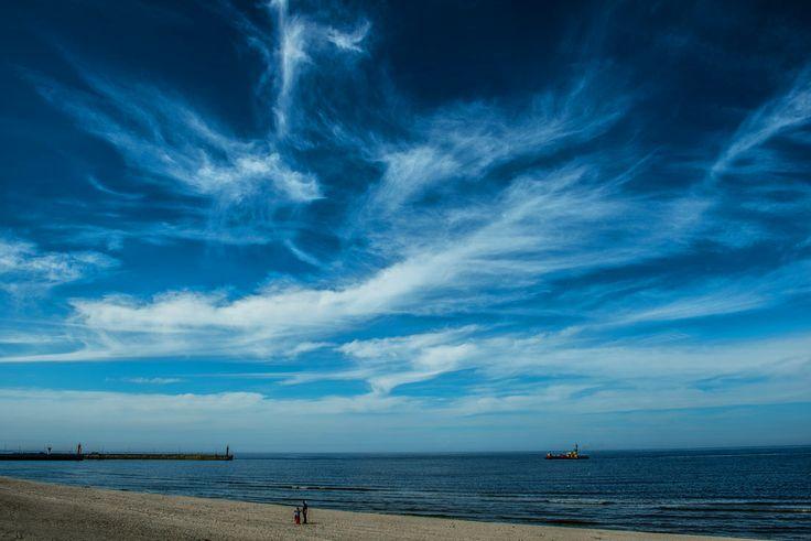Poland Leba - beach / Polska Łeba - plaża