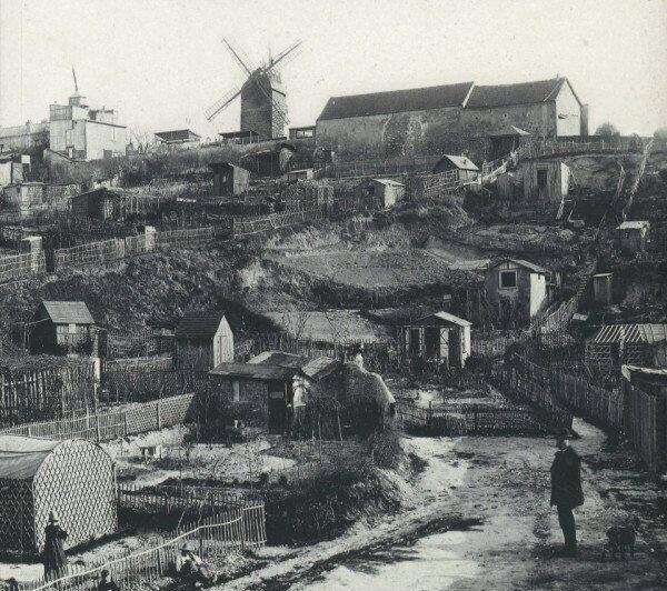 Монмартр, Париж, 1890 год