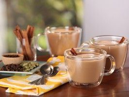 Homemade Coconut Chai Tea Latte : Recipes : Cooking Channel. Made this with brunch today and it was amazing! Sub in maple syrup to eliminate processed sugar :)