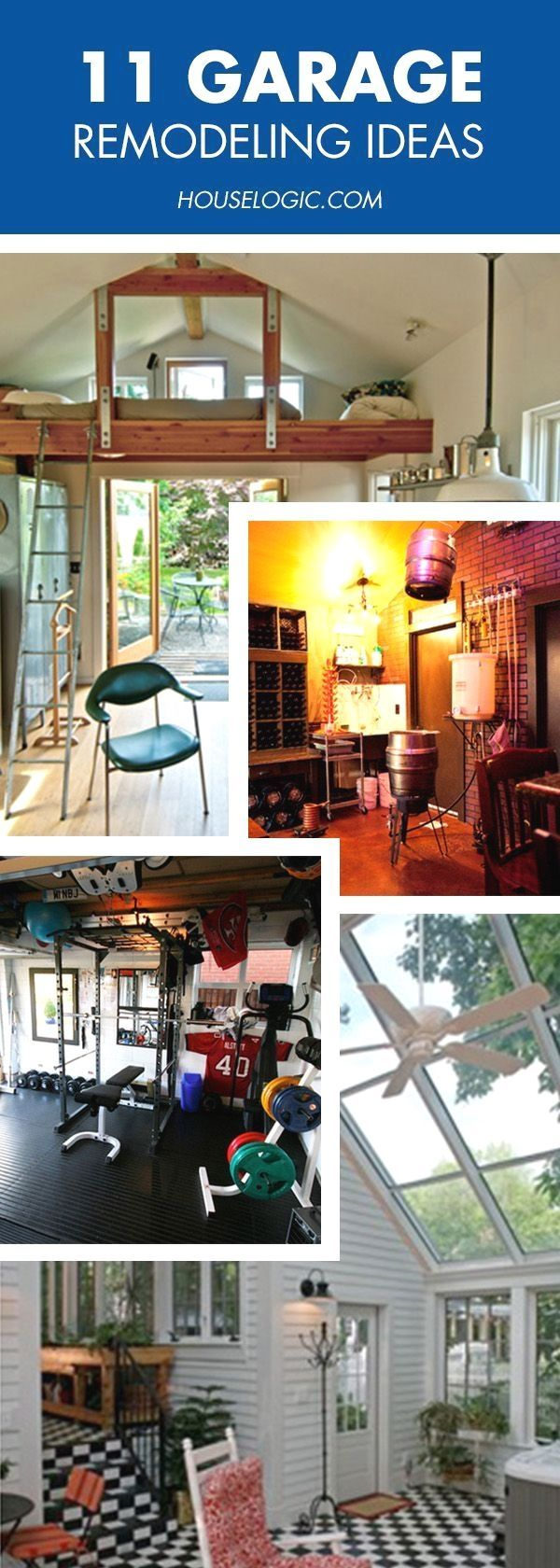 These garage remodel ideas will make you
