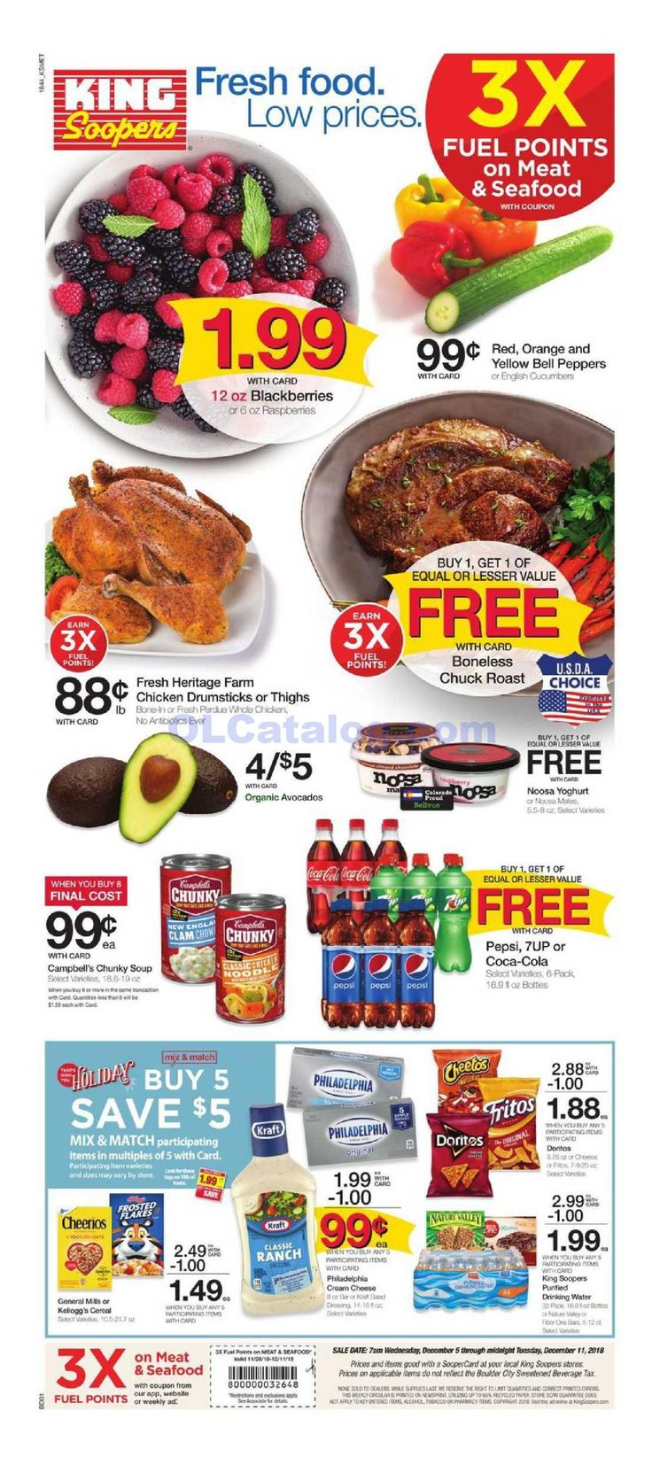King soopers weekly ad december 5 11 2018 do you know