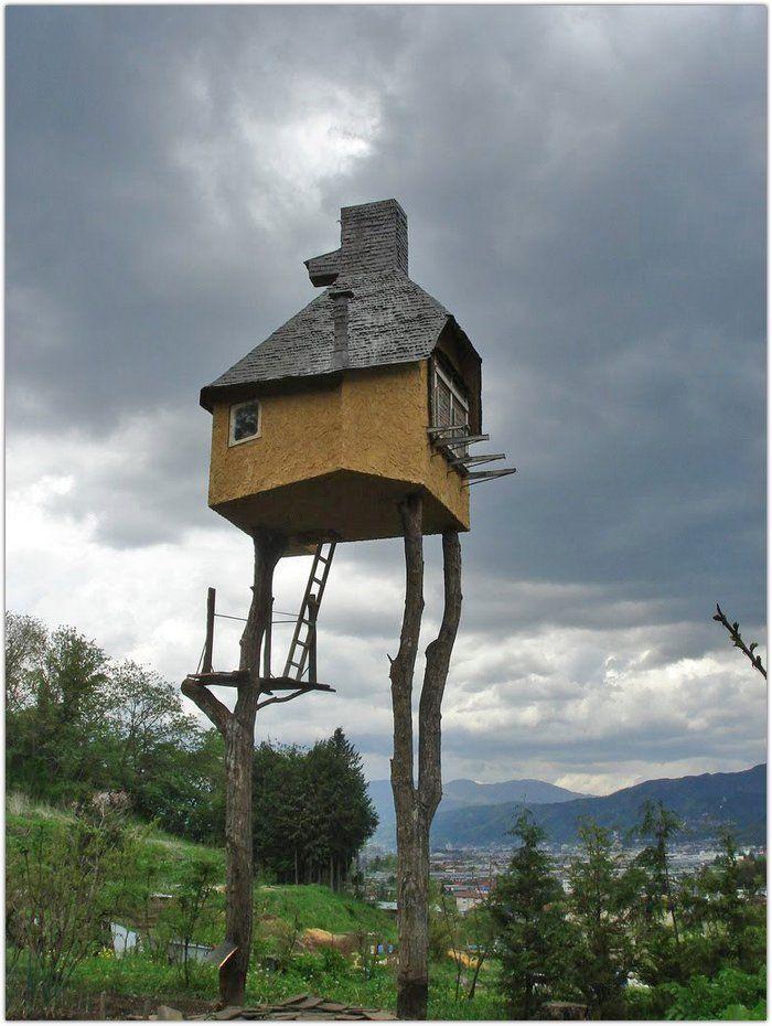 Необычные дома, каких вы не видели: u3poccuu