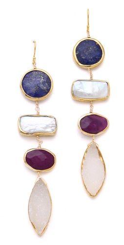 Dara Ettinger stone earrings