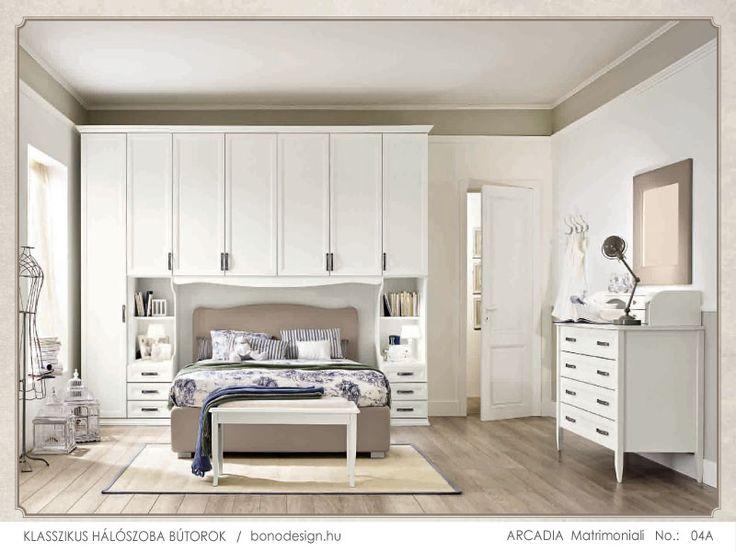 Colombini olasz klasszikus hálószoba bútor