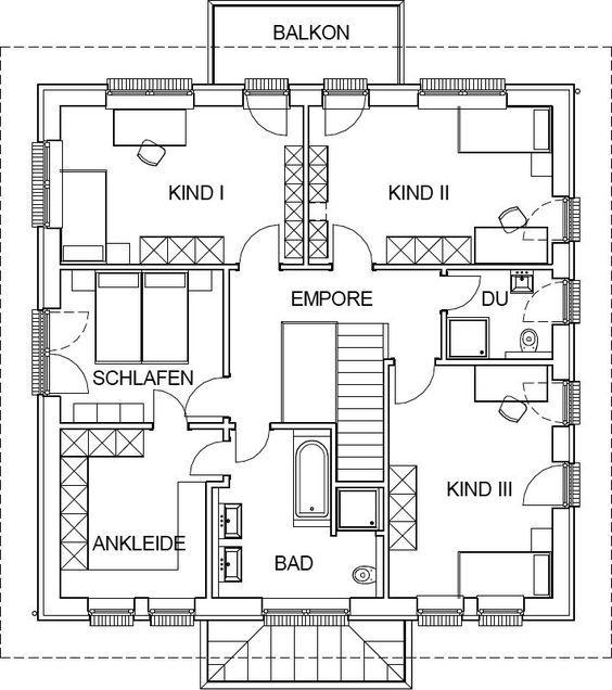 Stadtvilla moderne architektur grundriss  Die besten 25+ Grundriss stadtvilla Ideen nur auf Pinterest ...