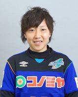 スペランツァFC大阪高槻の選手。MFの齋藤 敏子