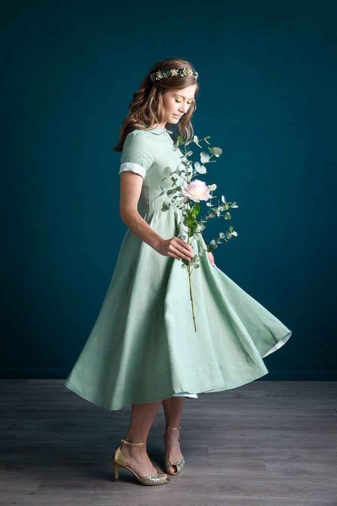 Hochzeitsgast Festliche Kleider Für Damen Ab 50 Jahren ...