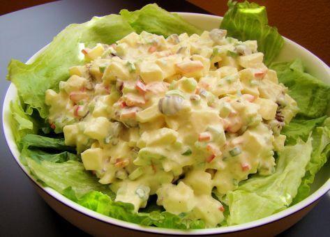 Acá esta la Receta de la Ensalada Waldorf, una ensalada Sencilla y Deliciosa, Ingredientes y Modo de Preparación Paso a Paso.