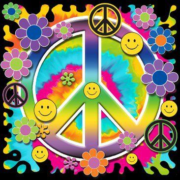 Greetings, groovy people. Wishing you peace, love and smiles.