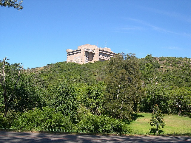 Grahamstown: 1820 Settlers' National Monument with Botanic Gardens by John Steedman, via Flickr