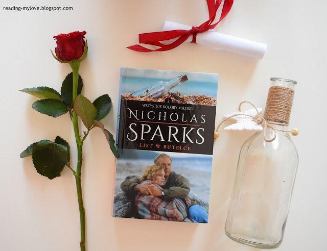 Reading-my love: Nicholas Sparks, List w butelce
