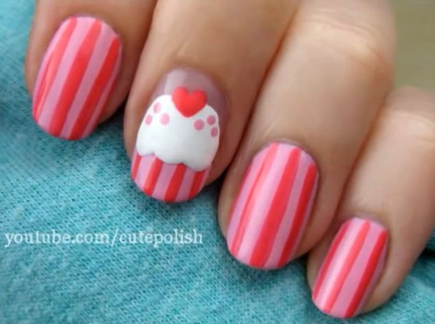 20 Cute Nail Polish Design Ideas - Chrissy, Inspired Like this.