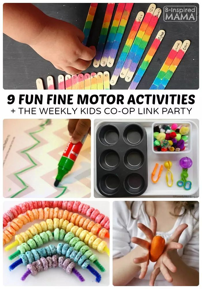 1000 Images About Fun Fine Motor Skill Activities On