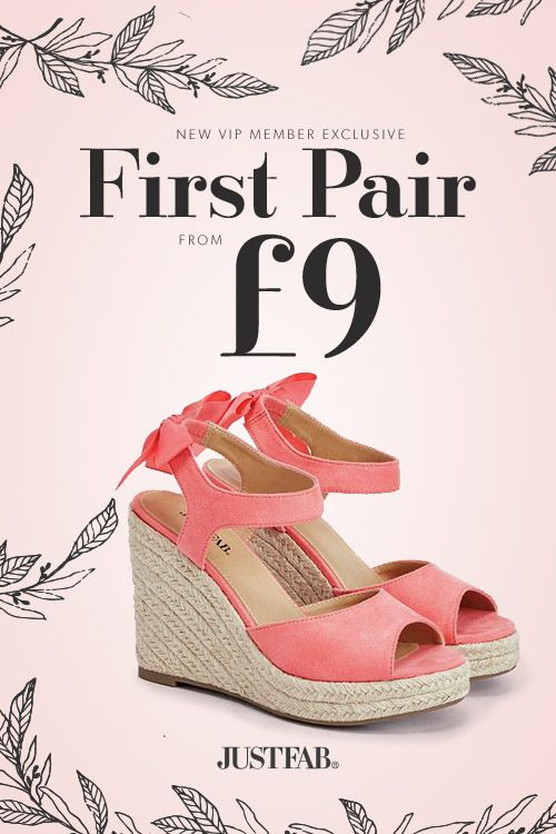 THINK PINK  Buy Shoes Spring is On !