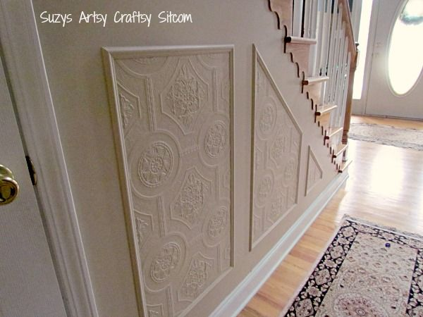 Using Paintable Textured Wallpaper To Create A Whole New
