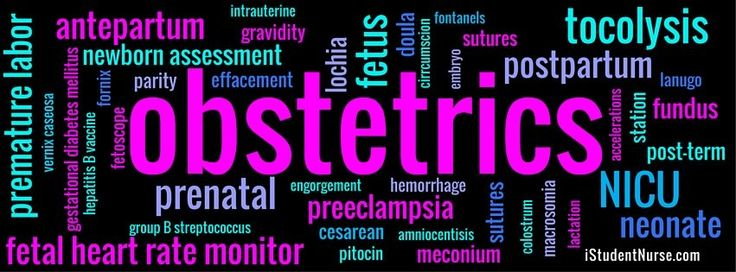 Obstetrics Nursing Class Resources: NCLEX Notes on antepartum (pregnancy), peripartum/labor, and postpartum (after birth) maternal & newborn health topics, plus open-access journal article collection in APA format, glossary, and mnemonic assessment tips (BUBBLE-HE & REEDA) @iStudentNurse #NurseHacks #DownNDirtyNursing #OB #LaborAndDelivery #OBNursing #NCLEX #WordCloud
