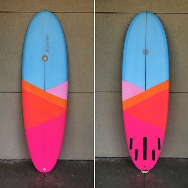via ALBUM Surfboards: http://albumsurfboards.com