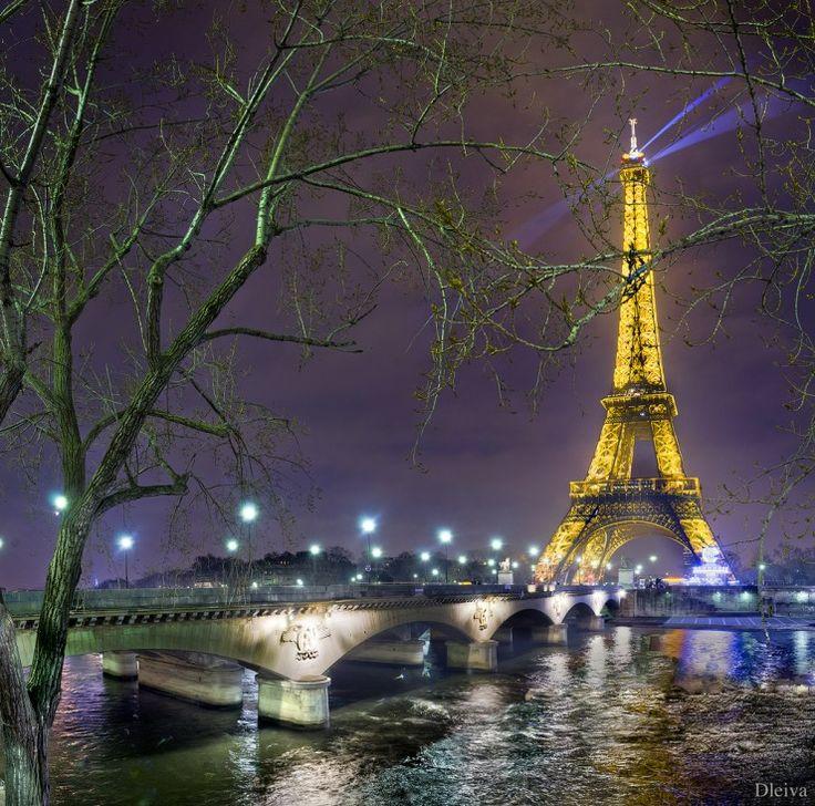 París, río Sena Francia