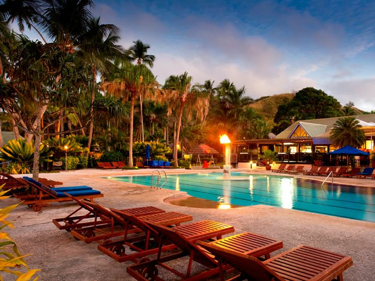 A great mainland resort, Fiji Hideaway Resort & Spa  www.islandescapes.com.au