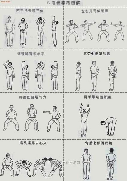24 Awesome qigong exercises pictures images