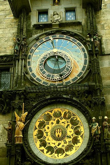 Prague Astronomical Clock, Praha, Praag, Praga