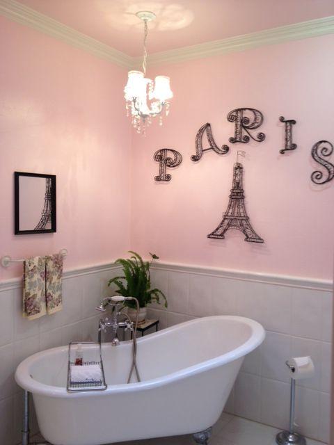Diy Paris Bathroom Decor