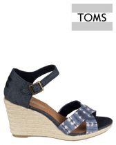 TOMS Sienna Sandaal Blauw