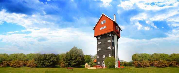 Ház a felhőkben | The house in the clouds - Thorpeness