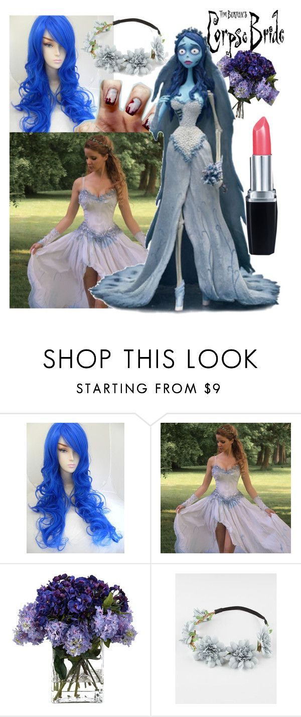 """Corpse Bride Costume"" by fancyweirdgirl ❤ liked on Polyvore featuring John-Richard, Burton, Full Tilt and Isadora"