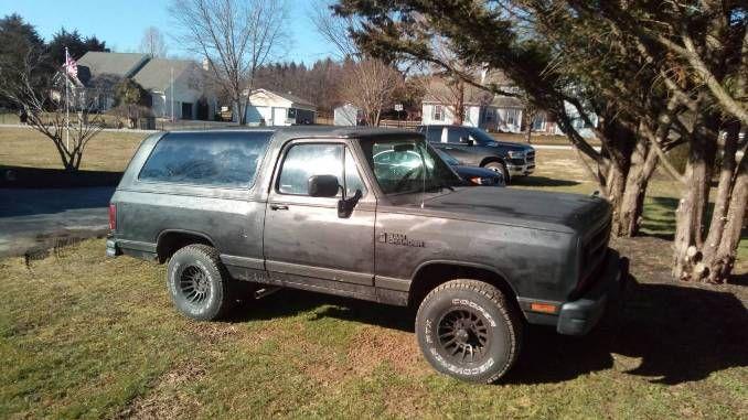 1989 5 2l V 8 In Oxford Pa Dodge Ramcharger Oxford Farm Trucks