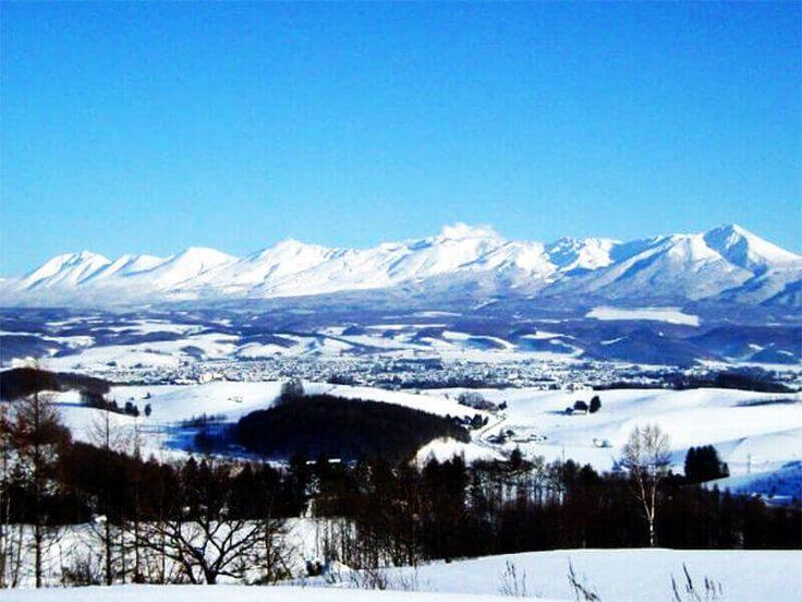 """Furano City, Hokkaido, known for the TV show """"Kita no Kuni Kara"""" and lavender…"""